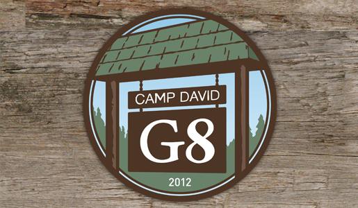 g8 Camp David logo