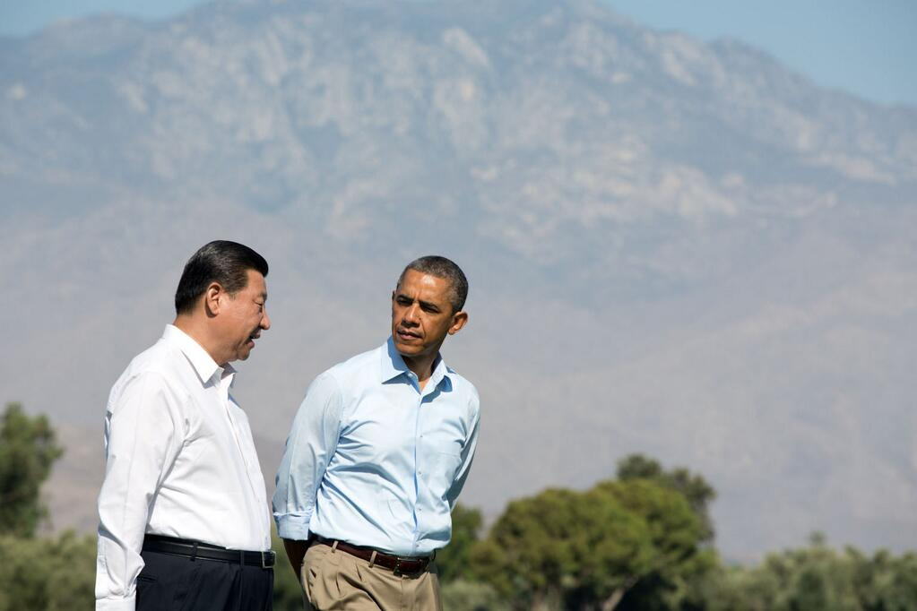 Xi-Obama at Sunnylands