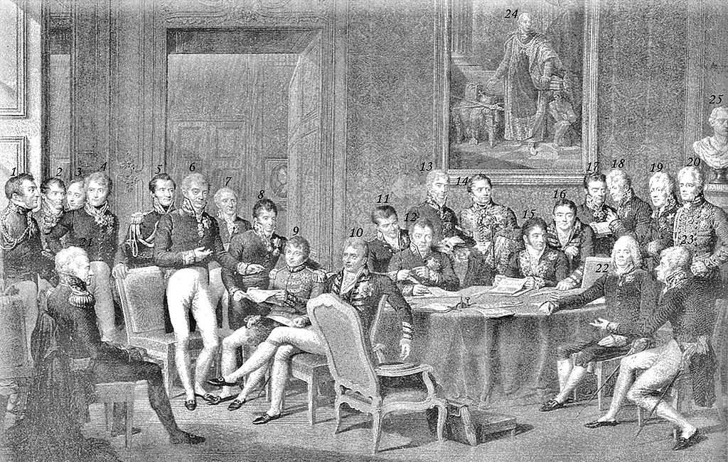 Congress of Vienna 1815 en.wikipedia.org