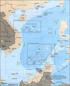 By U.S. Central Intelligence Agency - Asia Maps — Perry-Castañeda Map Collection: South China Sea (Islands) 1988, Public Domain, https://commons.wikimedia.org/w/index.php?curid=17066897